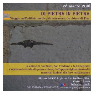 26 marzo 2016: Di Pietra in Pietra