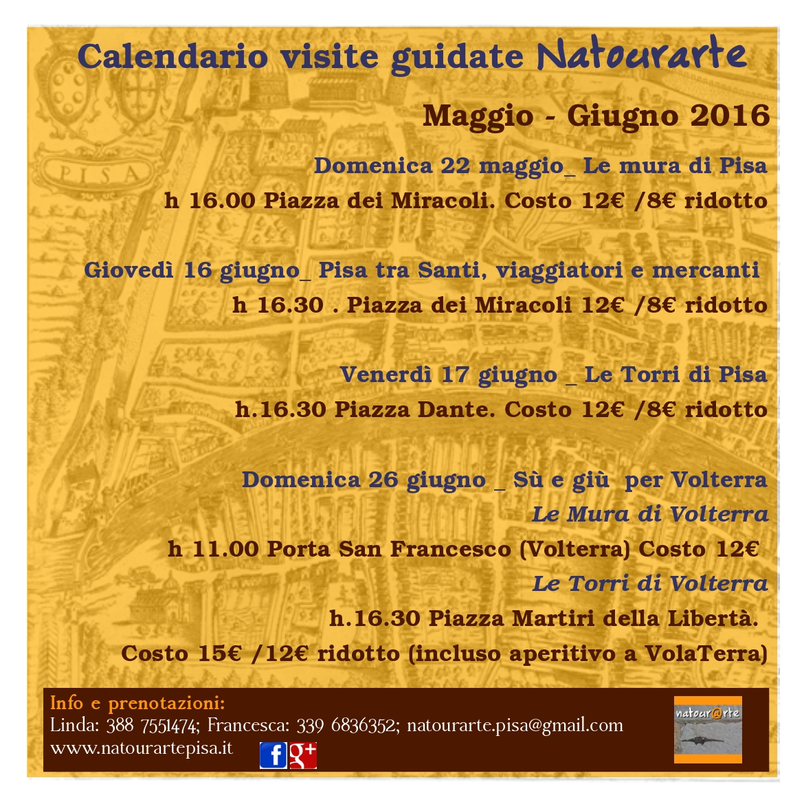 Guided Tours  Maggio