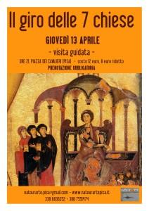 Giovedì Santo: Il giro delle Sette Chiese - Pisa