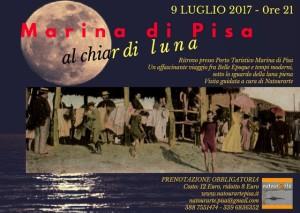 Marina di Pisa al chiar di Luna - visita guidata in notturna, a cura di Natourarte