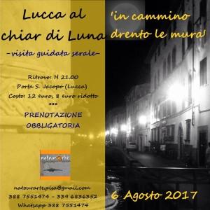 Lucca al chiar di luna - visita guidata serale
