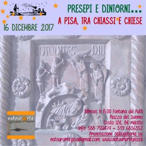 A Pisa, tra chiassi e chiese - visita guidata natourarte