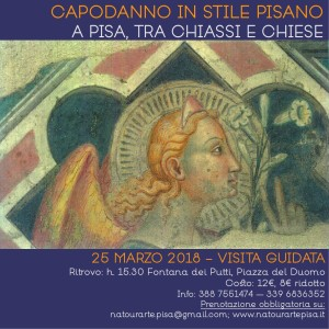 Capodanno in stile pisano, a Pisa tra chiassi e chiese - visita guidata a cura di Natourarte